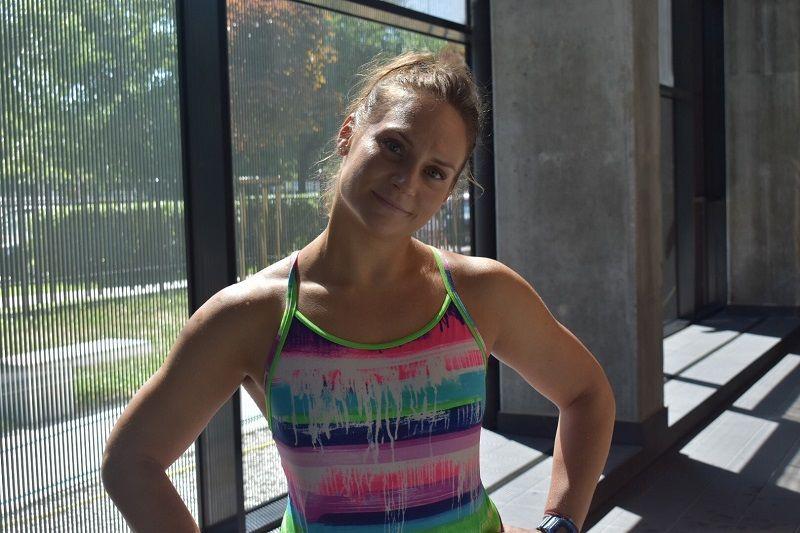 Karolina – instruktorka pływania