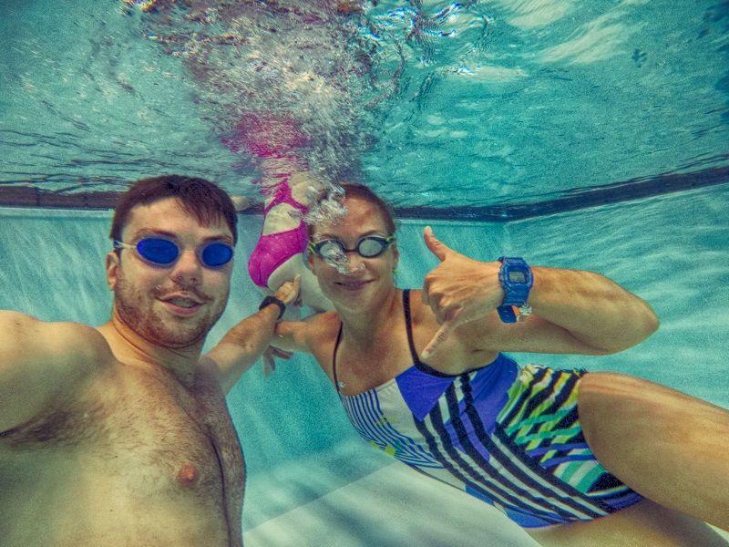 nauka pływania dla dorosłych Warszawa
