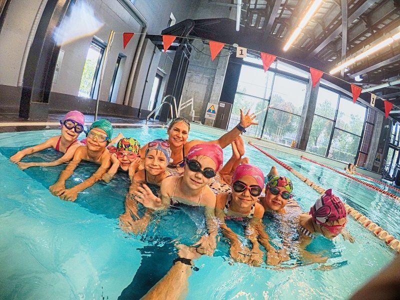 Nauka pływania dla dzieci Warszawa - szkoła Move Camp
