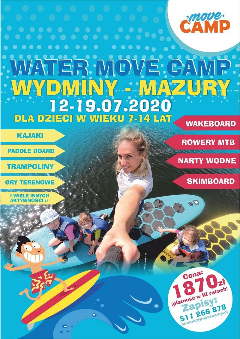 water move camp