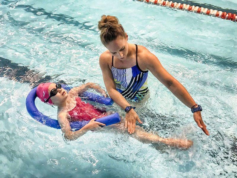 indywidualna nauka pływania dla dzieci